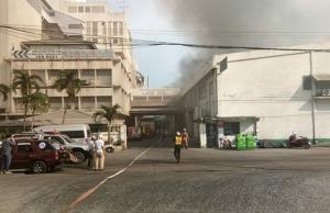 ไฟไหม้ห้องแล็บเก็บเนย โรงงานผลิดแป้งย่านสำโรงใต้ พนง.หนีตายอลหม่าน