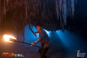 """""""หมาก-ก็อต"""" เจองานหิน บุกป่าฝ่าดงโชว์คิวบู๊ในถ้ำ"""