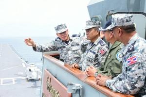 ฝึกหนัก ทหารเรือ-ทหารอากาศ เสริมศักยภาพความเข้มแข็ง