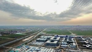 ชมภาพเขตเศรษฐกิจใหม่สยงอัน เขตพัฒนาใหม่ตอนในจีน