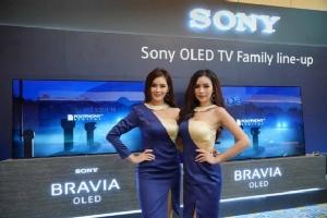 โซนี่ส่งกองทัพทีวีบราเวียครบไลน์ รุกตลาดทีวีจอใหญ่ในไทย เปิดตัว BRAVIA 4K HDR OLED TV รุ่นล่าสุด