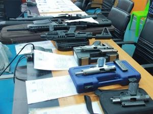 มอบตัวแล้ว 12 เพื่อนเจ้าบ่าวอารมณ์คึก รัวปืนแห่ขันหมาก เสียงอ่อยขอโทษสังคม