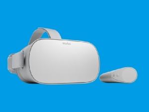 Oculus Go ชุดหูฟัง VR แบบสแตนด์อโลน ไม่ต้องใช้คอมพิวเตอร์ต่อพ่วง มูลค่า 199 เหรียญ