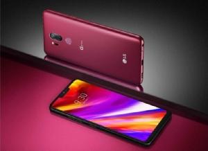 LG G7 ThinQ สีแดง