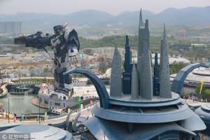 เปิดแล้ว สวนสนุกเสมือนจริงแห่งแรกของจีน สวมแว่นแล้วเหาะได้เลย