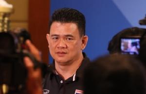 """""""โค้ชด่วน"""" ลั่นพาทีมลูกยางสาวไทยสู้ตาย พร้อมหมุนเวียนนักกีฬารักษาความฟิต"""