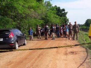 เครียด!รองสารวัตรเมืองขอนแก่นยิงตัวตาย เจอศพในรถจอดคลองชลประทาน