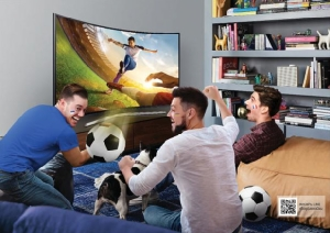 """""""ซัมซุง"""" อัดโปรฯ เด็ด ลดสูงสุดถึง 100,000 บาท ดันยอดขายทีวีจอใหญ่รับบอลโลก"""