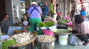 ฝนตกต่อเนื่อง เห็ดธรรมชาติขายเต็มตลาดสดขอนแก่น