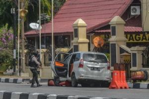 อิเหนาป่วนไม่หยุด! คนร้ายโจมตีสถานีตำรวจบนเกาะสุมาตรา-เจอวิสามัญฯ 4 ศพ