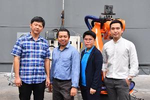 สวทช.หนุนไทยอาร์แอนด์ดี โซลูชั่นส์ ต่อยอดสร้างหุ่นยนต์มือสอง รองรับกลุ่ม SME