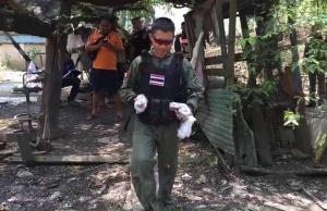 ชายวัย 48 ถางหญ้าหลังสถานสงเคราะห์ปากเกร็ด ผงะพบระเบิด-กระสุนปืน เพียบ โร่แจ้งอีโอดีเก็บกู้