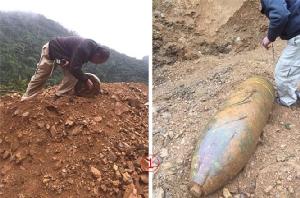 พบ 3 ลูกในลาว ระเบิดใหญ่ไซ้ส์ 750 ปอนด์บิ๊กบอมบ์ระดับเบิ้ม