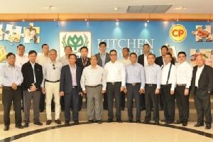 ซีพีเอฟต้อนรับคณะรัฐมนตรีพม่าเยี่ยมชมการผลิตเนื้อไก่