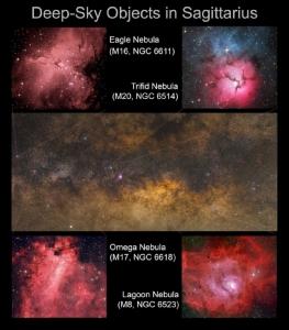 ถ่าย Deep Sky Objects ในใจกลางทางช้างเผือก