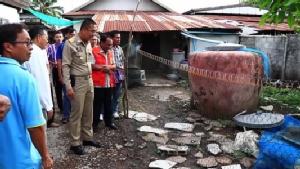 ผู้ว่าฯ เลยเชิญผู้เชี่ยวชาญให้ความรู้ชาวบ้าน เฝ้าระวังแผ่นดินไหวซ้ำ(ชมคลิป)