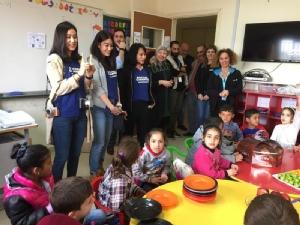 แสนสิริ ชวนพิตต้า ณ พัทลุง สัมผัสชีวิตเด็กผู้ลี้ภัยชาวซีเรีย บินลัดฟ้าเยี่ยมชมการทำงานของยูนิเซฟ ที่ประเทศเลบานอน