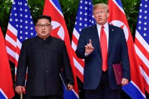 """คำแถลงร่วม """"ทรัมป์-คิม"""" ระบุสหรัฐฯ ค้ำประกันความมั่นคงให้เกาหลีเหนือ-สองฝ่ายร่วมมือสู่การปลดนุก"""