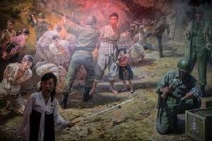 North Korea's loathing museum