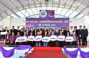 """ก.แรงงาน จัดโรดโชว์ """"ขอกำลังใจ เชียร์เยาวชนไทยแข่งขันฝีมืออาเซียน"""" ที่ อี.เทค"""