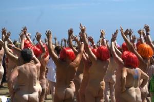 Skinny dipping gathering