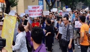 เวียดนามนับพันชุมนุมอย่างสงบไร้เหตุปะทะต้านแผนปล่อยต่างชาติเช่าที่ดิน
