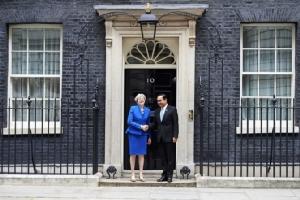 In Pics : ประยุทธ์ยิ้มแฉ่งเยือนบ้านเลขที่10 นายกฯ อังกฤษร้องไทยจัดเลือกตั้งอิสระและเปิดกว้าง
