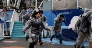 """""""ญี่ปุ่น"""" จะระงับการซ้อมอพยพประชาชนหนีภัยขีปนาวุธโสมแดง"""