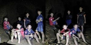 """เผยภาพนักเตะเยาวชนทีม """"หมูป่า"""" เคยลุยเข้าถ้ำหลวงมาแล้ว อ้างฝึกพิเศษ"""