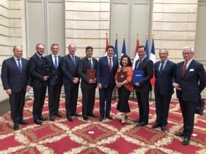 ไทย-ฝรั่งเศสจับมือทำสัญญาธีออส 2