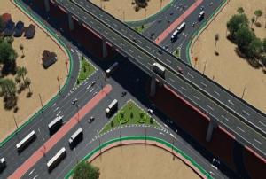 ทช.สำรวจออกแบบถนนผังเมืองอำนาจเจริญ เสริมโครงข่ายแก้แออัดเขตเมือง