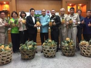 บางจากฯ ลุยรับซื้อสับปะรดจากเกษตรกรเพิ่มเป็นกว่า 460 ตัน