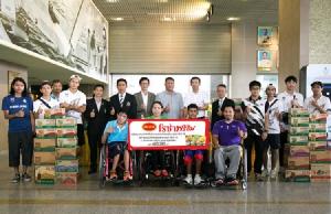 """""""โรซ่า"""" หนุนนักกีฬาไทย ลุยเอเชียนเกมส์ และ เอเชียนพาราเกมส์"""