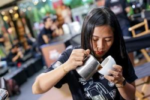 """""""ซีพี-เมจิ บาริสต้าแคมป์ 4""""  ยกระดับบาริสต้าไทยสู่สากล จัดงาน CP-Meji Speed Latte Art Championship 2018 ครั้งที่ 2 สุดยิ่งใหญ่"""
