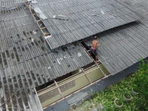 พายุฝนถล่มพัทลุง ชาวบ้านเดือดร้อนกว่า 120 หลังคาเรือน
