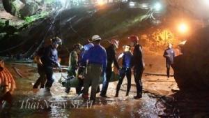 ทีมประดาน้ำออสซีเผยเจอเหตุระทึกในถ้ำหลวง เครื่องสูบน้ำขัดข้องหลังช่วย 13 ทีมหมูป่า
