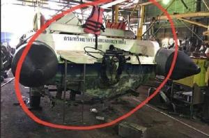 """โป๊ะแตก! พบอู่ต่อเรือมรณะ """"ฟีนิกซ์"""" ไร้ใบอนุญาต เจอเรือราชการ 2 ลำขึ้นคานรอซ่อม"""