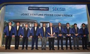 """เพอร์เฟคฯ ลุยร่วมทุนญี่ปุ่น ผนึก """"เซกิซุย"""" สร้างบ้านระบบโมดูลาร์"""