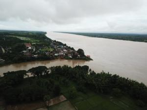 น้ำโขงเพิ่มสูงจ่อวิกฤต ลำน้ำสาขาหลายสายเริ่มเอ่อท่วมพื้นที่เกษตร