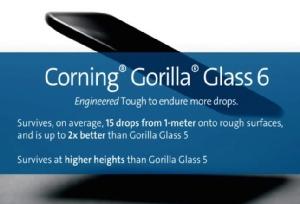 Corning โชว์ Gorilla Glass 6 การันตีโทรศัพท์หล่นได้ 15 รอบ