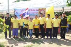 กลุ่มไทยออยล์ร่วมกลุ่มประมงบ้านอ่าวอุดม ทำซั้งเชือกเพื่อเป็นแหล่งอนุบาลสัตว์ทะเล ถวายเป็นพระราชกุศล