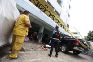 ผัวเฒ่าวัยเฉียด 70 ฆ่าเมีย ก่อนกระโดดชั้น 8 ซอยประชาสงเคราะห์ 28 ดับ หนีความผิด