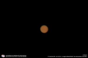 เผยบรรยากาศชมดาวอังคารใกล้โลกที่สุดในรอบ 15 ปี