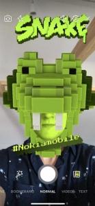 โนเกีย ปลุกเกมงูเกิดใหม่บนแพลตฟอร์มกล้อง AR ใหม่ของ Facebook