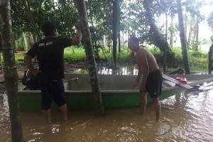สั่งปิดชั่วคราว 30 บริษัทล่องแก่งที่พังงาเหตุฝนตกหนัก ขณะที่ตะกั่วป่าน้ำเริ่มทะลักเข้าบ้านเรือน