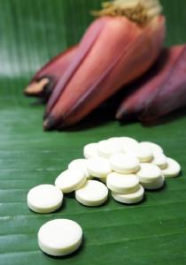 อาหารเสริมจากปลีกล้วย อัดเม็ด กินง่าย เร่งน้ำนมแม่