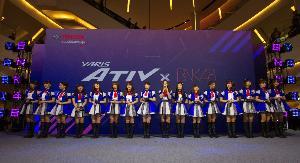 โตโยต้า เปิดตัว BNK48 ฉลองความสำเร็จ Yaris ATIV
