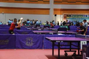 กรุงเก่าจัดแข่งปิงปอง Set All Thailand Table Tennis championship 2018 circuit 1