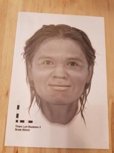 นี่คือใบหน้าที่สร้างจากเศษกะโหลกผู้หญิงอายุกว่า 12,000 ปี