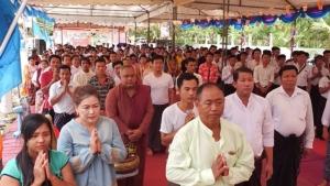 แรงงานชาวพม่ากว่า 200 คน ร่วมงานวันเฉลิมพระชนมพรรษา 12 สิงหามหาราชินี